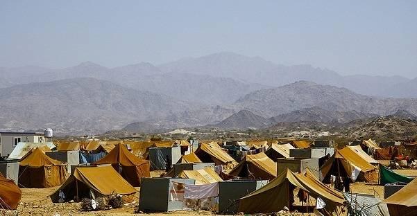 Mazrak lägret var hem till ca 10 000 internt fördrivna flyktingar under 2009 som en följd av konflikten mellan Houthi och regeringen. Foto: Anna Sofia Flamand / IRIN / Flickr