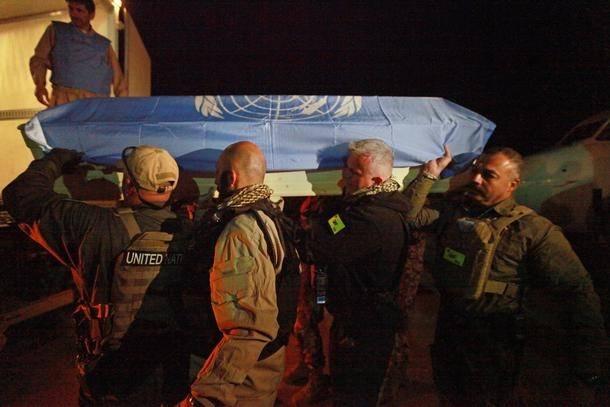 I april 2011 blev syv FN-ansatte dræbt