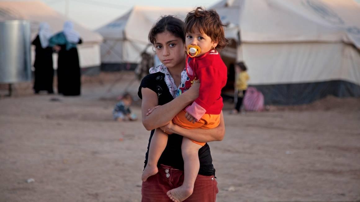 Flere millioner mennesker er drevet på flukt de siste årene. Bildet er fra flyktningleiren Domiz i Nord-Irak. Foto: Jodi Hilton/IRIN