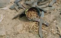 Brukte våpen og ammunisjon Foto: UN-Photo John-Isaac