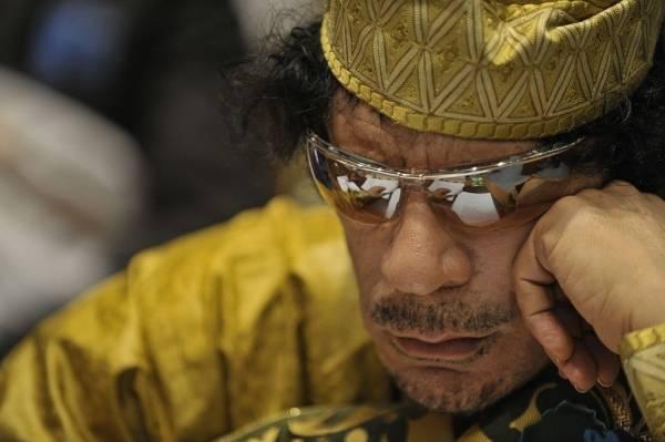 Muammar Gadhafi, statsoverhode i Libya 1969-2011  Foto: US Navy Photo/Jesse B. Awalt via Wikimedia