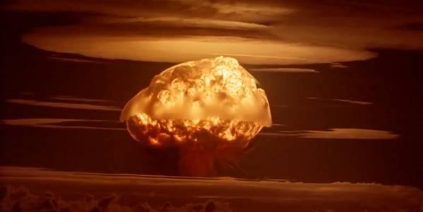 En prøvesprengning av en atombombe. Foto: Flickr
