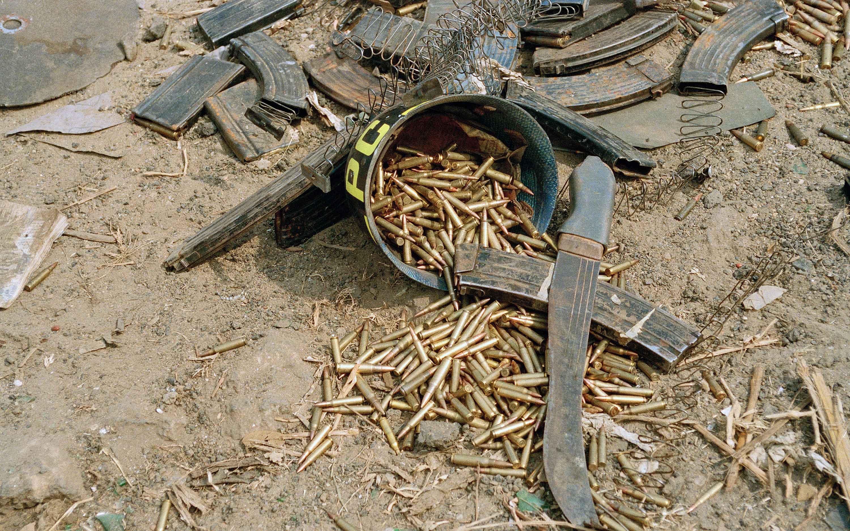 Svenska soldater i strid i kongo kinshasa