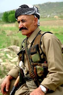 Et medlem av PKK i Kurdistan-Irak. Foto: James Gordon/Wikimedia Commons